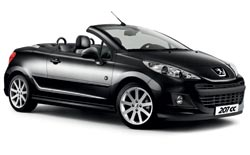 hyra bilar SAINT GILLES  Peugeot 207 convertible