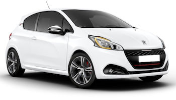 Car Hire CHARLEROI  Peugeot208