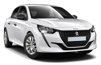 Car Hire AKTION  Peugeot 208