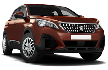 Car Hire ZEIST  Peugeot 3008