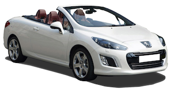 Location de voitures MESSINA  Peugeot 308 Convertible
