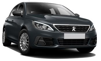 Car Hire AKTION  Peugeot 308