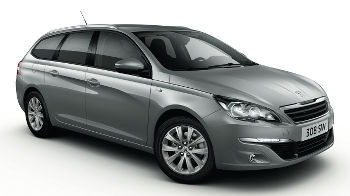 Car Hire SOUTHAMPTON  Peugeot 308 wagon