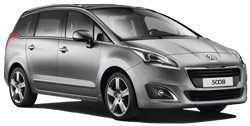 Car Hire SPLIT  Peugeot 5008