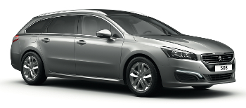 Car Hire ZURICH  Peugeot 508 Wagon