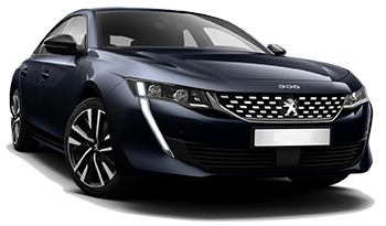 Car Hire DESHAIES  Peugeot 508