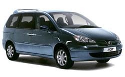 Mietwagen NICE  Peugeot 807