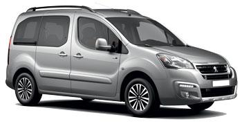 Car Hire POINTE DU BOUT  Peugeot Partner Tepee
