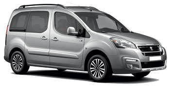 Car Hire LYON  Peugeot Partner