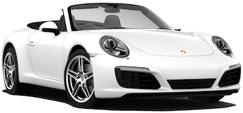 Car Hire ZURICH  Porsche 911 Carrera Convertible