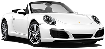 Car Hire CANNES  Porsche 911 Convertible