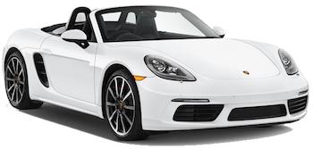 Car Hire MILAN  Porsche Boxster S
