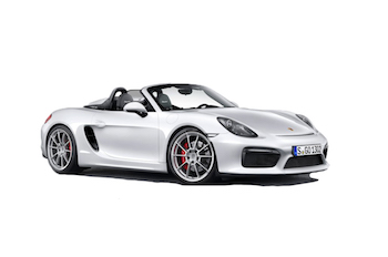 Car Hire CANNES  Porsche Boxster Spyder