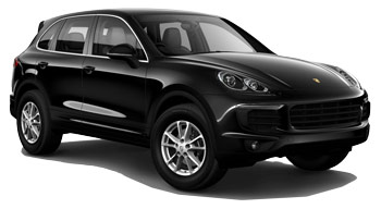 Car Hire HAMBURG  Porsche Cayenne