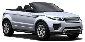 Car Hire ZURICH  Range Rover Evoque Convertible
