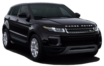 Car Hire CANNES  Range Rover Evoque