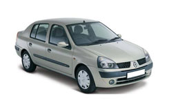 Car Hire DIDIM  Renault Clio Sedan