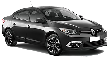 Car Hire BUDVA  Renault Fluence