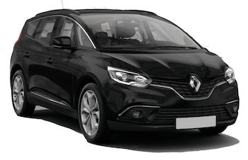 Car Hire SAINTE ANNE  Renault Grand Scenic