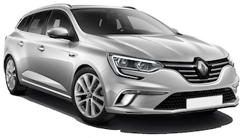 Car Hire BUDVA  Renault Megane Wagon
