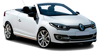 Car Hire PAPHOS  Renault Megane convertible