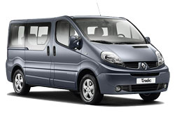 Car Hire BUDVA  RenaultTraffic