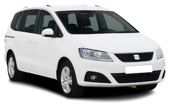 Car Hire COMO  Seat Alhambra