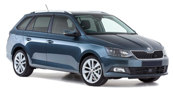 Car Hire ZEIST  Skoda Fabia Wagon