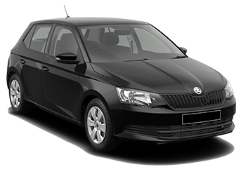 Car Hire PLZEN  Skoda Fabia