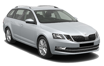 Car Hire LUTON  Skoda Octavia wagon