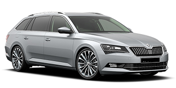 hyra bilar KEMPTEN  Skoda Superb Wagon