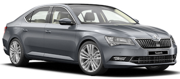 Car Hire GUETERSLOH  Skoda Superb