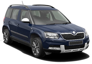 Car Hire KOS  Skoda Yeti