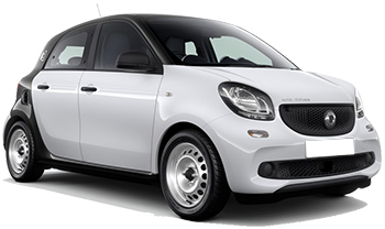 Car Hire AKTION  Smart For Four