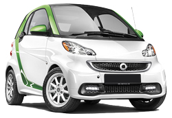 Smart For Two Electric Car
