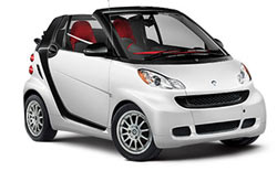 Location de voitures KARLOVY VARY  Smart convertible