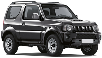 Alquiler THE VALLEY  Suzuki Jimny