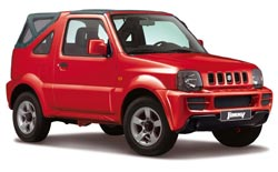 Car Hire BARBADOS  Suzuki Jimny soft top