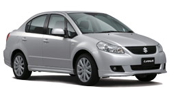 arenda avto MONTEGO BAY  Suzuki Liana