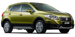 Car Hire UTRECHT  Suzuki SX4 S-Cross