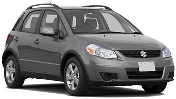 Car Hire BARBADOS  Suzuki SX4