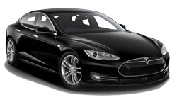 hyra bilar LONDRES  Tesla Model S