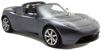 Car Hire ZURICH  Tesla Signature Roadster