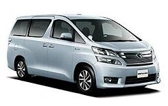 Toyota Alphard 7 Pax