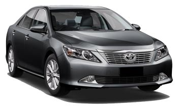 Car Hire QUEENSTOWN  Toyota Aurion