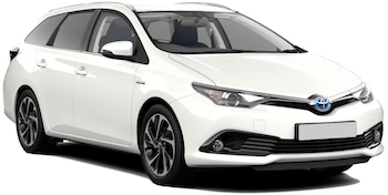 Car Hire KLAGENFURT  Toyota Auris Estate