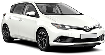 Car Hire MARSEILLE  Toyota Auris