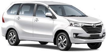 Car Hire KRUGER NATIONAL PARK  Toyota Avanza