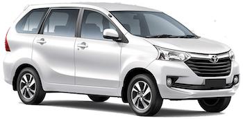 Toyota Avanza 7 pax