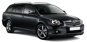 Car Hire MARSEILLE  Toyota Avensis wagon